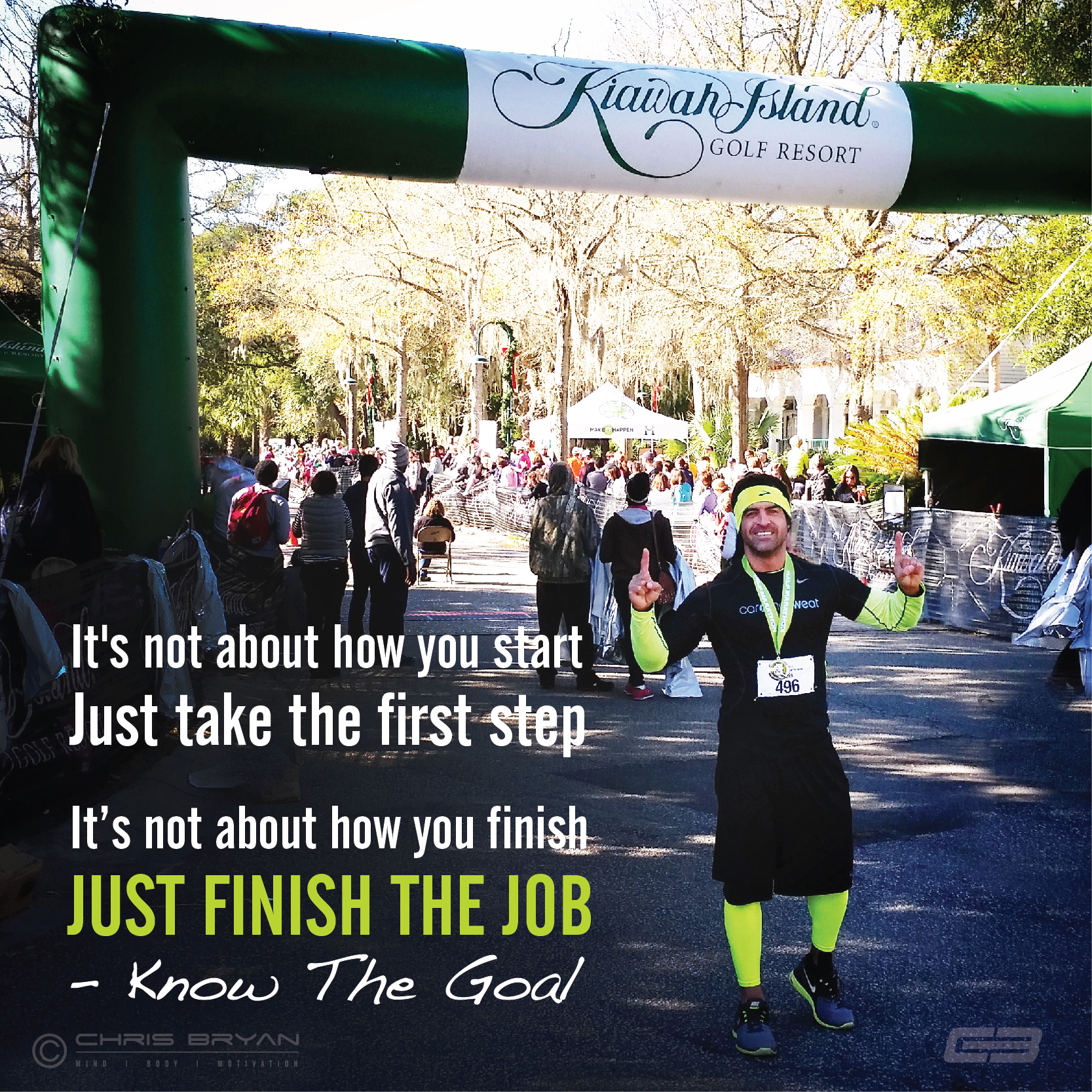 kiawah finish line