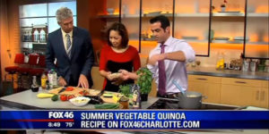 Cooking Quinoa on Fox